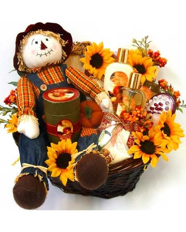 GB284 ''A Touch of Fall'' Bath & Body Gift Basket