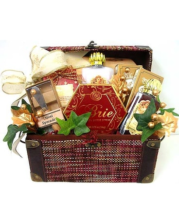 Quick view GF120 u0027u0027Angel Hinged ...  sc 1 st  Array of Flowers u0026 Gifts & Womenu0027s Christmas Gift Baskets Delivery Oklahoma City OK - Array of ...