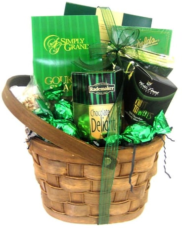 GF69 ''Lucky Break'' Gourmet Food Basket