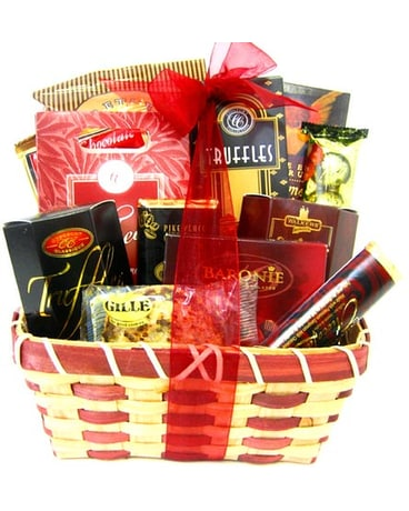 GF72 ''Sweets & Treats'' Gourmet Food Basket