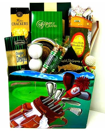 Quick View GF73 The Masters Golf Gourmet Gift Basket