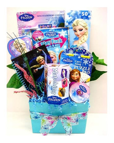 KGB42 ''Disney''s Frozen Fun'' Gift Basket