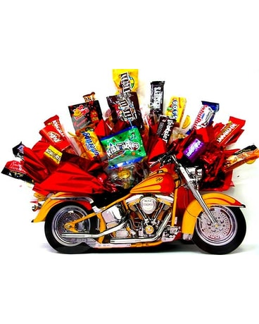 MotorcycleCB ''Motorcycle Fun'' Candy Bouquet