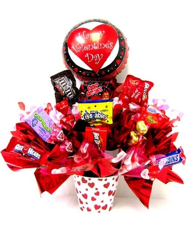 VCB51 ''Sweet Valentine'' Candy Bouquet