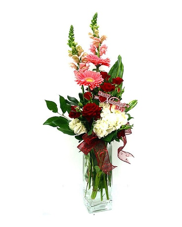 VF113 ''Twisted Love'' Floral Arrangement