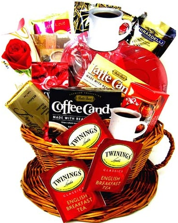 VGF44 ''Love You A Latte'' Gourmet Gift Basket