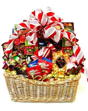 Christmas Baskets.Xgf119 Sweet Memories Christmas Basket