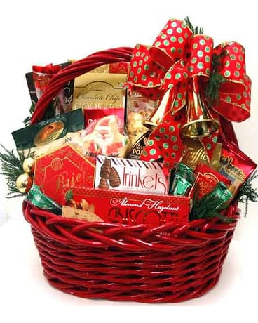 quick view xgf139 christmas bells are ringing gourmet basket