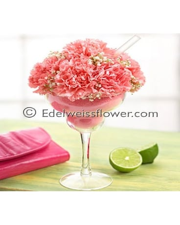 Pink Mini Margarita Flower Bouquet