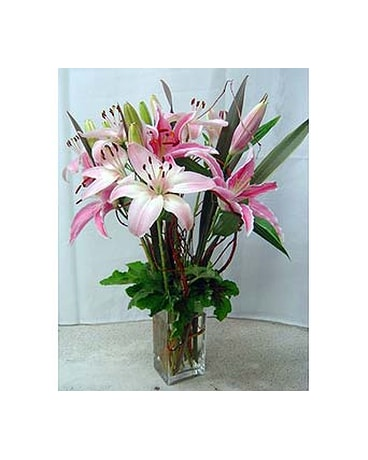 Exotic Lilies Flower Bouquet In Santa Monica Ca Edelweiss Flower