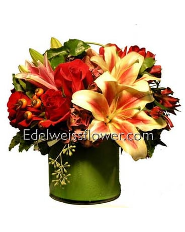 Modern Jazz Flower Bouquet
