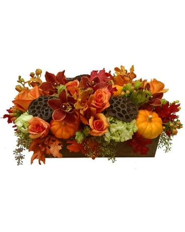 Bountiful Fall Flower Box