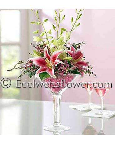 Cosmo Martini Flower Bouquet