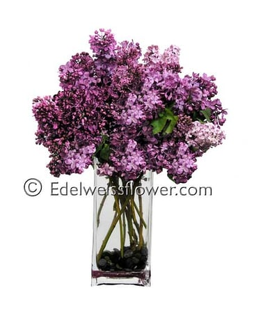 Lovely Lilacs Flower Bouquet