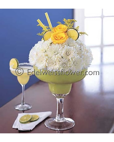 Happy Margarita (Lime) Flower Bouquet