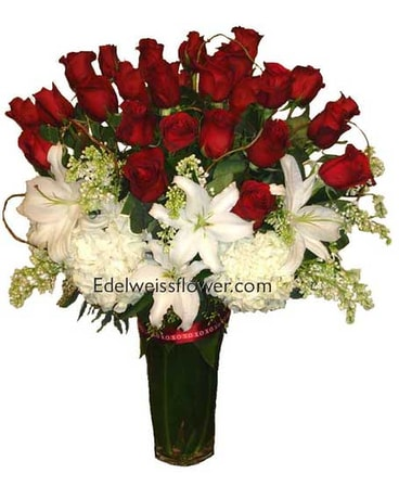 Ultimate Roses Flower Bouquet