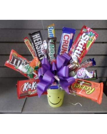 CANDY BAR BOUQUET-local delivery only