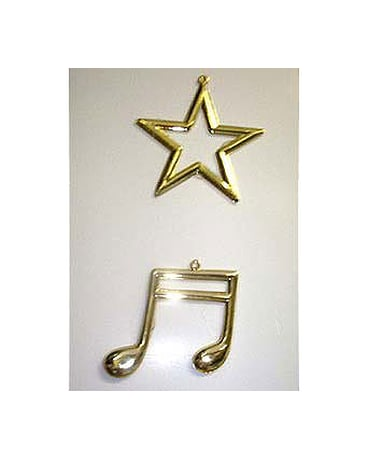 Music Note and Star