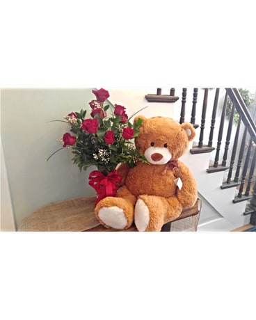 Bear hugs and Roses