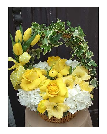 Tisket Yellow Basket
