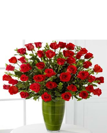 Fascinating Rose Bouquet - 40 Stems of 24-i