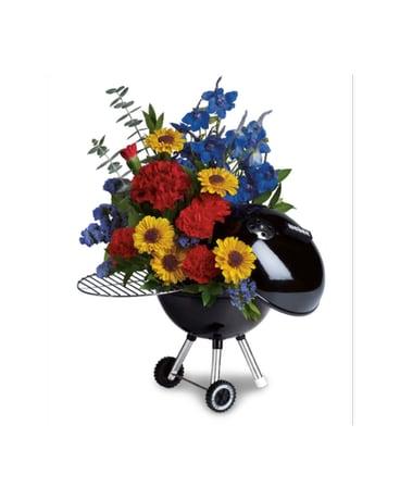 Teleflora Weber Hot Off The Grill
