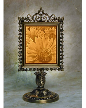 Sunflower Lithophane Lamp