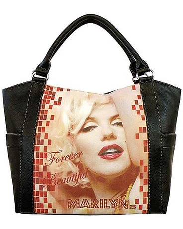 Licensed Marilyn Shopping Tote