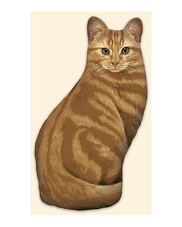 Orange Tabby Doorstop