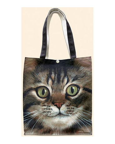 Tabby Oil Cloth Tote