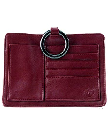 Wine Outback Leatherette Pouchee