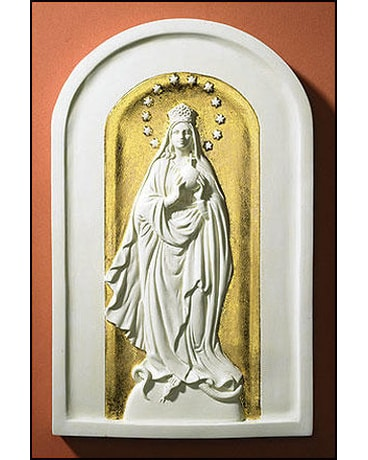 Mary Queen of the Universe Plaque