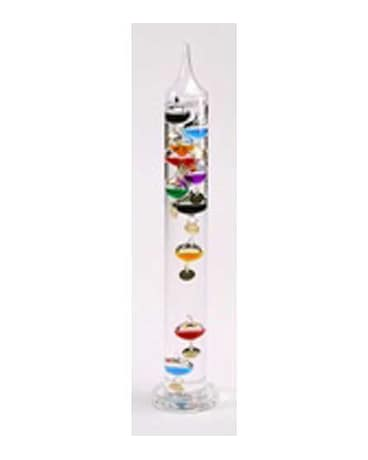 18 inch Multi-color Glass Galileo $34.99