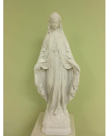Blessed Virgin Garden Statue