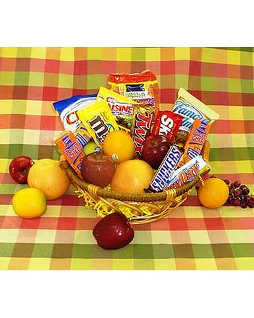Hody''s Fruit & Snack Basket
