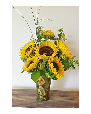 Sun Drenched Sunflowers