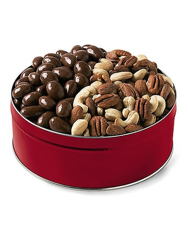 Mixed Nuts and Chocolate Almonds