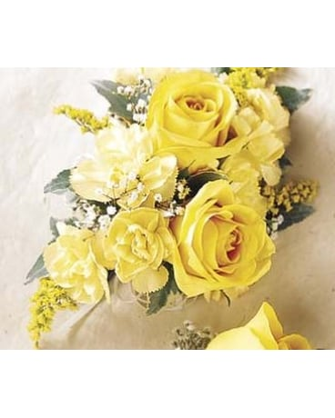Yellow & More Corsage/ Boutonniere