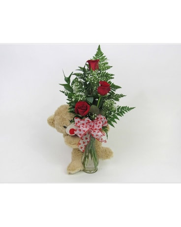Huggy Bear Bouquet