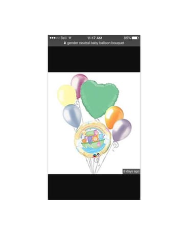 Quick View New Baby Balloon Bouquet