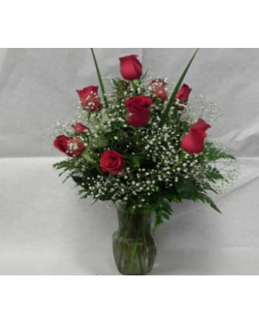 1 Dozen Rose Arrangement