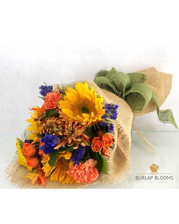 Burlap Blooms 'Let the Sunshine in'