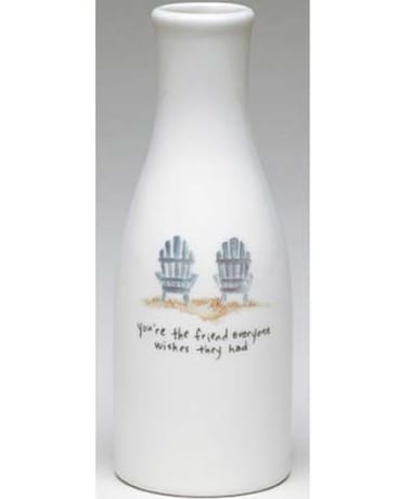 You're The Friends Ceramic Vase