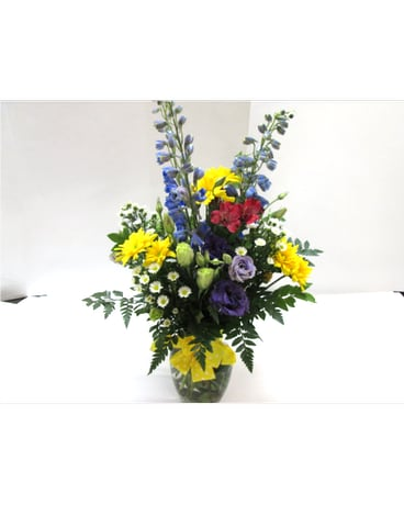 Quick View Spring Sunshine Vase HS 153 Local Delivery Only