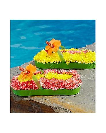 60f2349e94e7 Fresh Flower Flip Flop™ in Fairfield CA - Rose Florist   Gift Shop