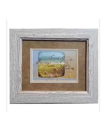 Quick View Serenity Courage Wisdom Framed Gift
