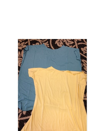Short Sleeve PIKO Top in Yellow
