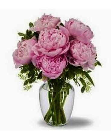 Peony Vase In Bethany Ok Anns Secret Garden