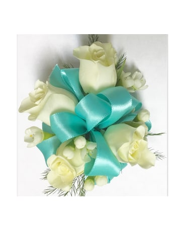 Father Daughter Dance Gift Kid/'s Corsage Royal Blue Chiffon Flower Corsage