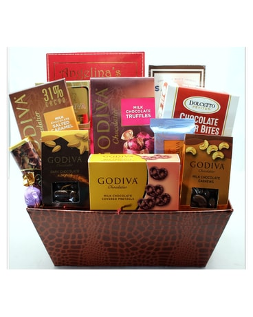 Quick View Cherished Confections Gourmet Chocolate Basket